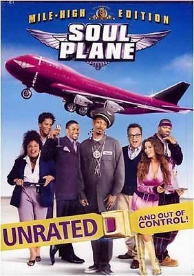 Soul Plane (DVD, 2004, Unrated) Brand New!