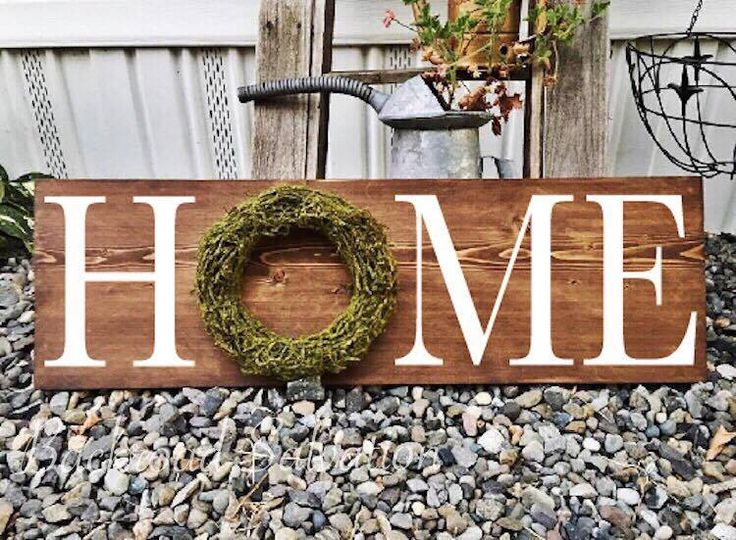 Home Sign | Oversized Sign, Wood Sign, Farmhouse Decor, Farmhouse Style, Home  Decor, Rustic Decor, Farmhouse Sign, New Home Gift