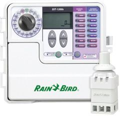 """Rain Bird SST Smart Indoor/Outdoor Series """"Simple to Set"""" Irrigation Timer - has a PC interface. Can set many zones and conserve water"""