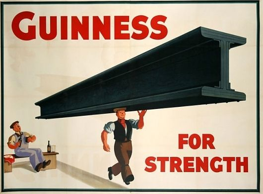 Guinness for Strength posters | David Airey, graphic designer