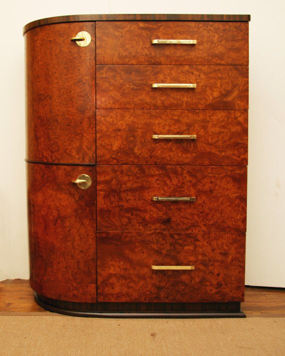 Art Deco Armoire c. 1930's by ClassicAntiquesPHL on Etsy, $2900.00