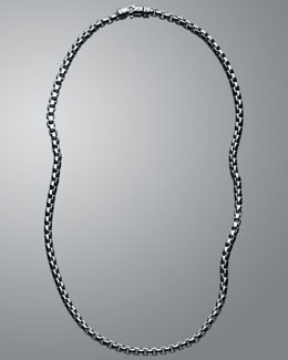 Jewelry Essentials for Men: David Yurman chain necklace
