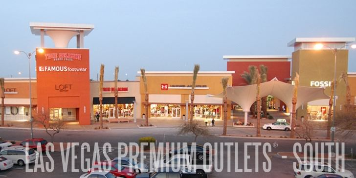 Las Vegas Premium Outlets - South   Going to get some serious shopping done here