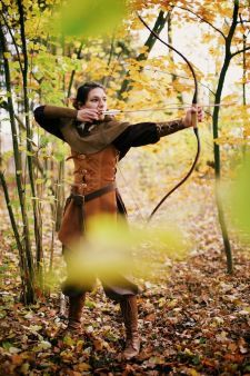 Female Ranger Larp Fantasy von Larperlei auf Etsy