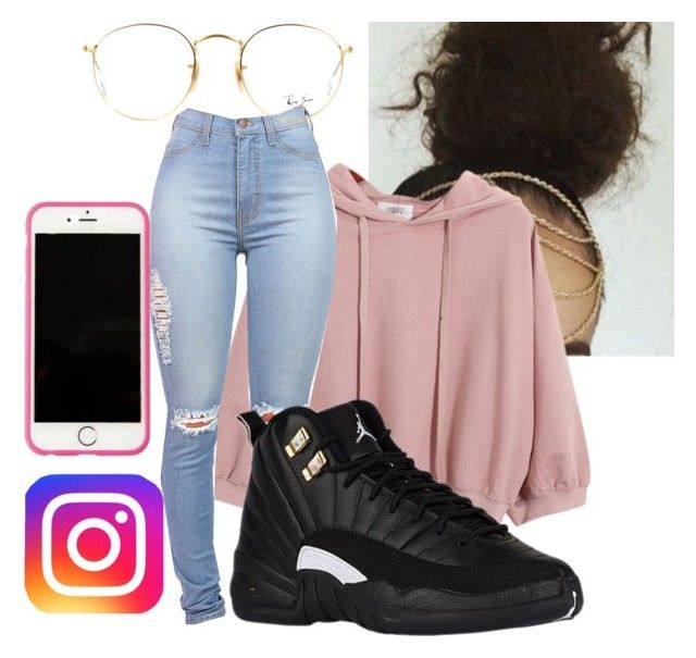"""Sunday Evening...Trillers and Instagram all day"" by illestqveen on Polyvore featuring Chicnova Fashion, Ray-Ban and Lilly Pulitzer"