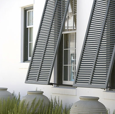 shutters for the bathroom window