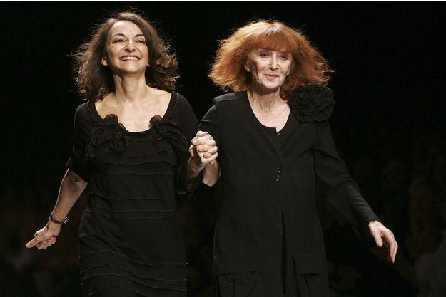 Sonia et Nathalie Rykiel en octobre 2006.