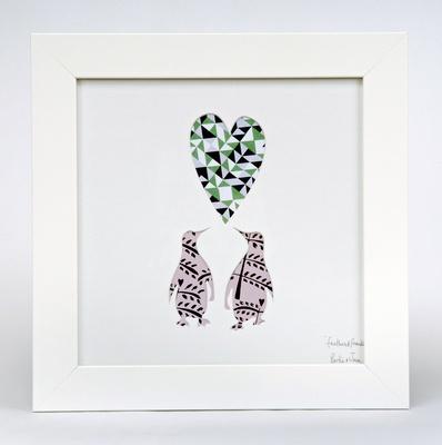 'Big Love Penguins' - Design by Bertie & Jack