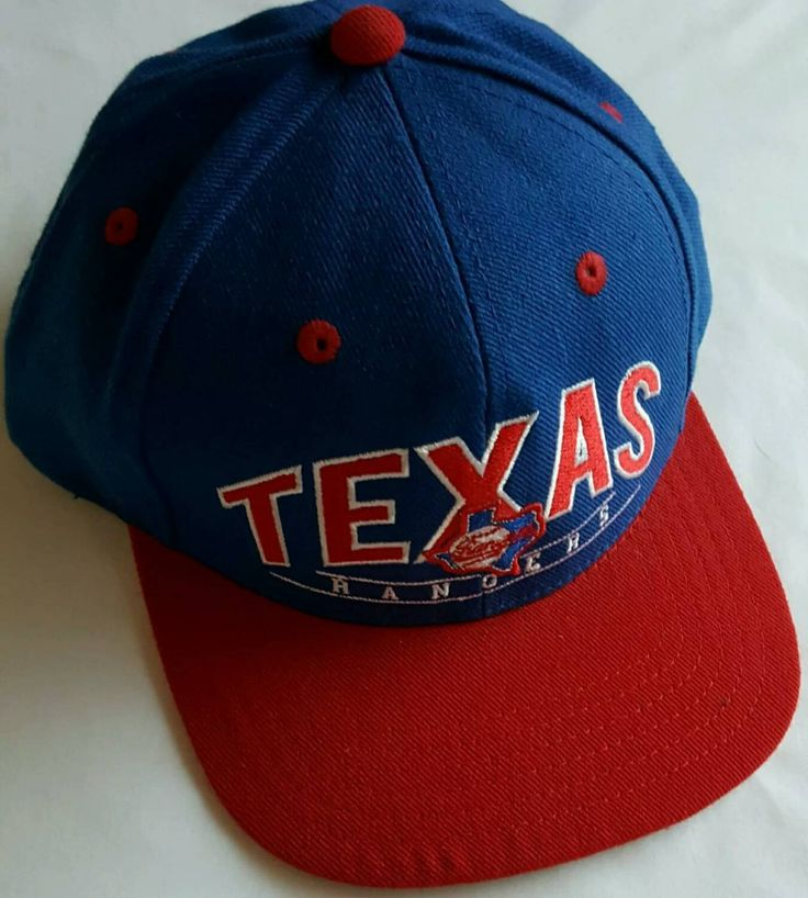 Texas Rangers Snapback Hat, Texas Rangers Baseball Cap by ResouledGypsy on Etsy