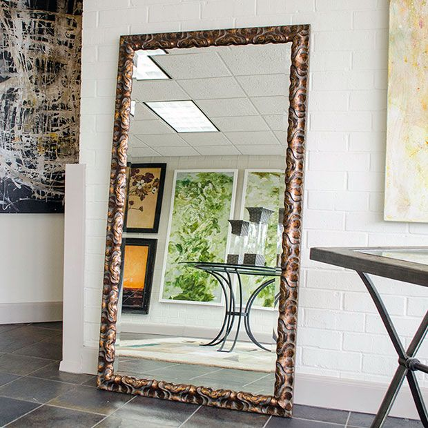 20 best images about home mirrors on pinterest sweet for Decorative floor length mirrors