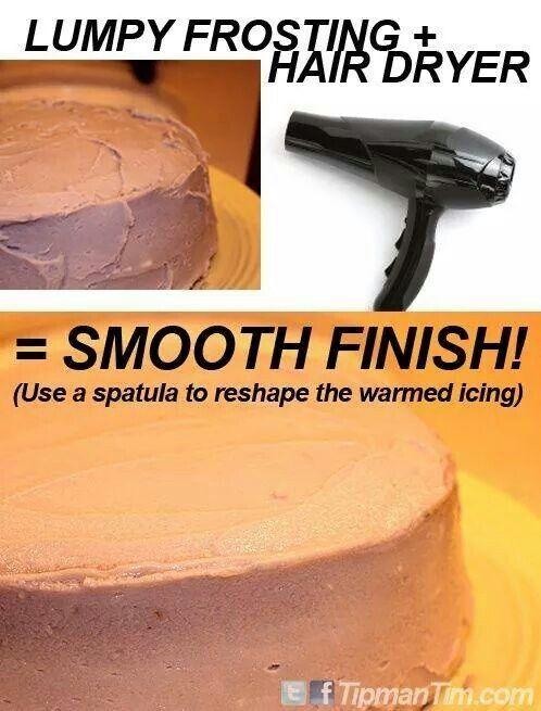 Nice smooth finish.