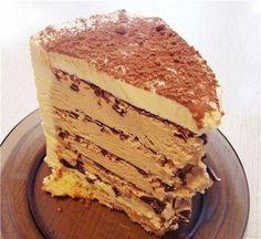 Веб Повар!: Торт «Кофе с шоколадом» БЕЗ ДУХОВКИ