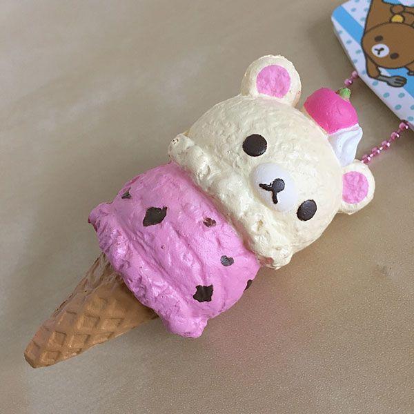 Silly Squishy Diy : Modes4U Kawaii Squishies Review - Korilakkuma ice cream 2 Cute 2 Poot Pinterest Ice, Cream ...