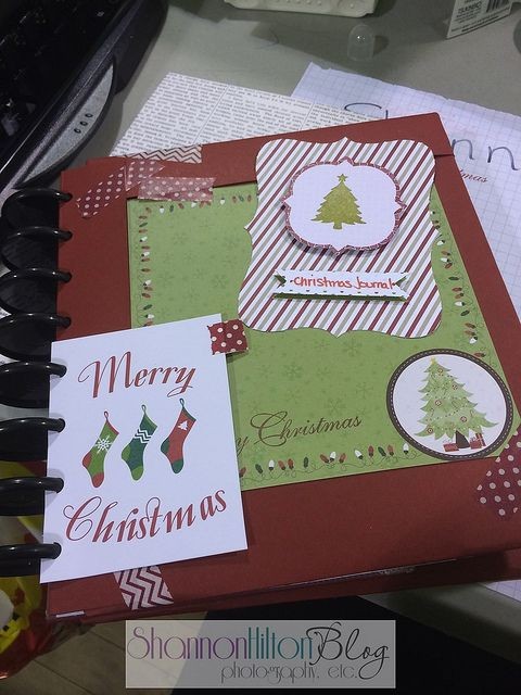 Christmas Journal with Staples ARC system