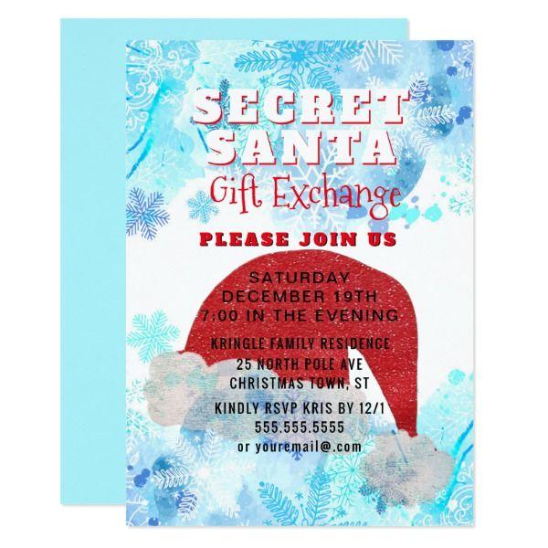 Best 25+ Secret santa invitation ideas on Pinterest Secret santa - business meet and greet invitation wording
