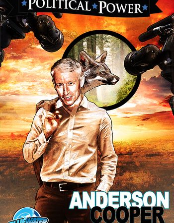 Anderson Cooper, the Comic Book | Out Magazine