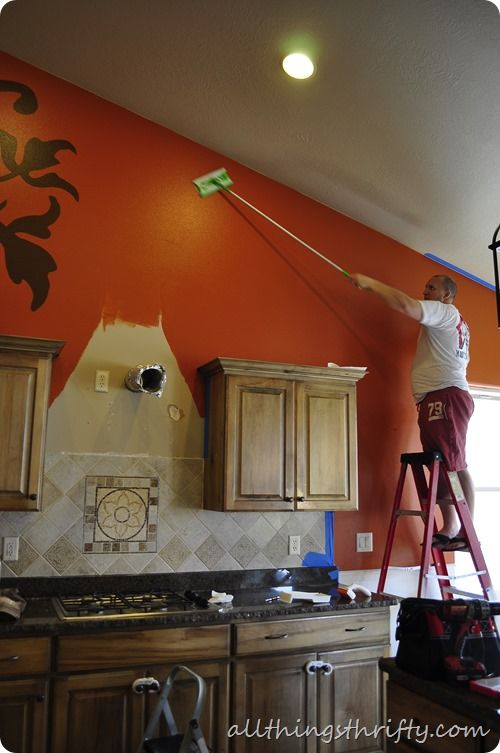 How To Prep Before Painting Use A Swiffer To Get All The Dust And Debris Then Magic Eraser For