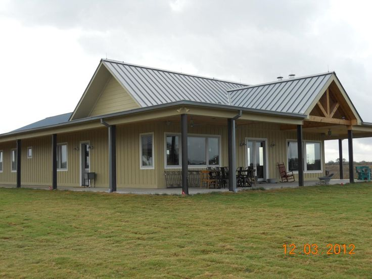 Texas barndominium house plans picture gallery custom for Metal buildings into homes