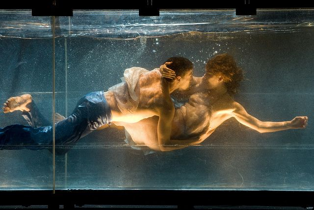 Dido & Aeneas at Sydney Festival January 2014 - dancers submerged in a tank of water  Tickets on sale October