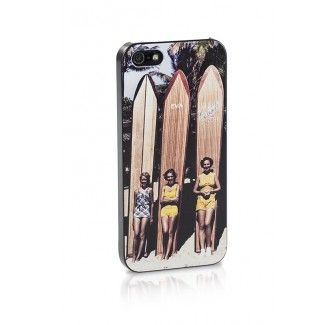 Retro Surfer girls iPhone case - Iphone 4 and 5