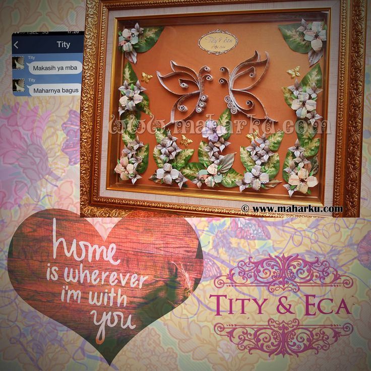 LOVE QUOTE | home is wherever i'm with you. Hias Mahar Uang Kupu Tity - Eca. Happy wedding