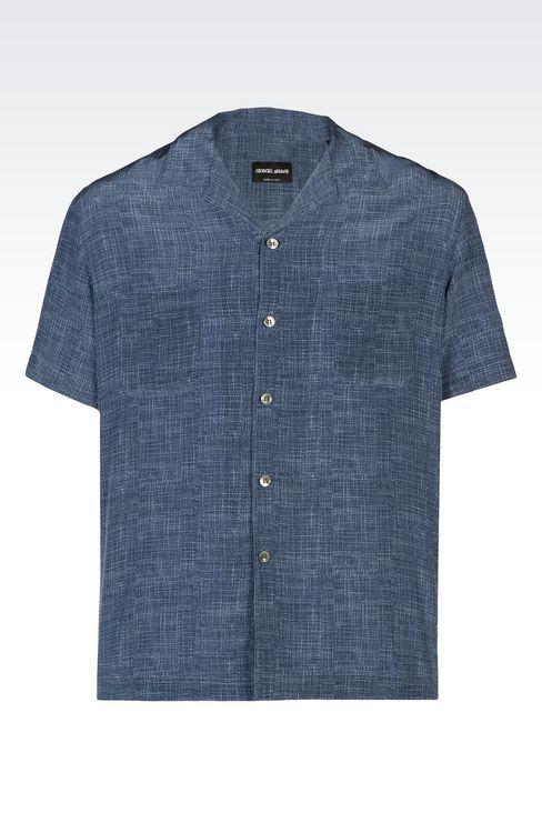 Рубашки: Рубашки Для Мужчин by Armani - 1