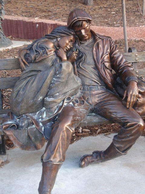 George Lundeen 1948 | escultor figurativo estadounidense