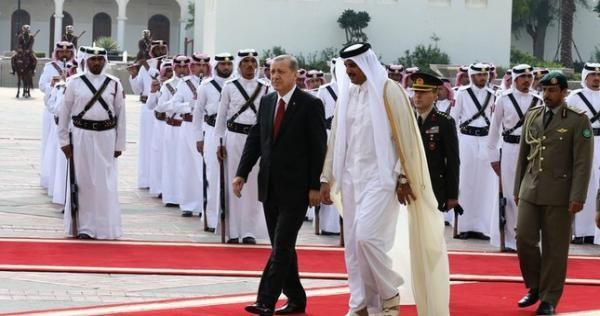 أردوغان تحت منظار بن زايد و بن سلمان زيارة لأمير الكويت الجديد ومقابلة خاصة مع تميم بن حمد