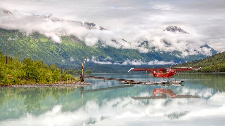 This seaplane will take you places! Escape to Kenai, Alaska.