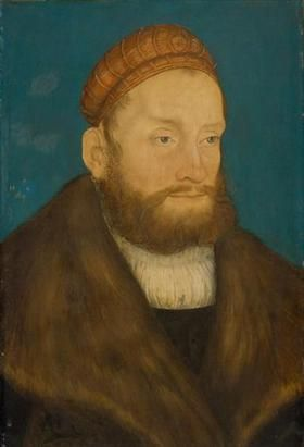 Casimir, Margrave of Brandenburg - Lucas Cranach the Elder