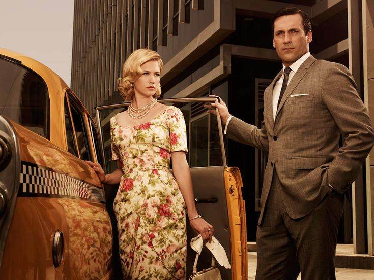 Image result for don and betty draper mad men