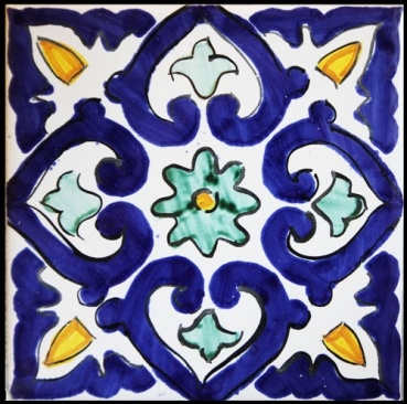 Ceramics - Italian pottery - Mattonaccio tile - Berenice - | Touch of Sicily - Italy                                                                                                                                                                                 Más