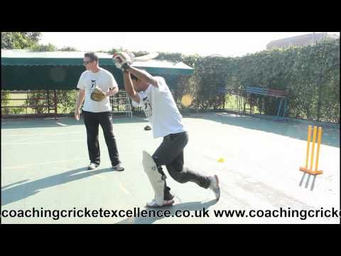 Cricket Batting Drills: Improving Footwork - http://crickethq.net/cricket-batting-drills-improving-footwork/