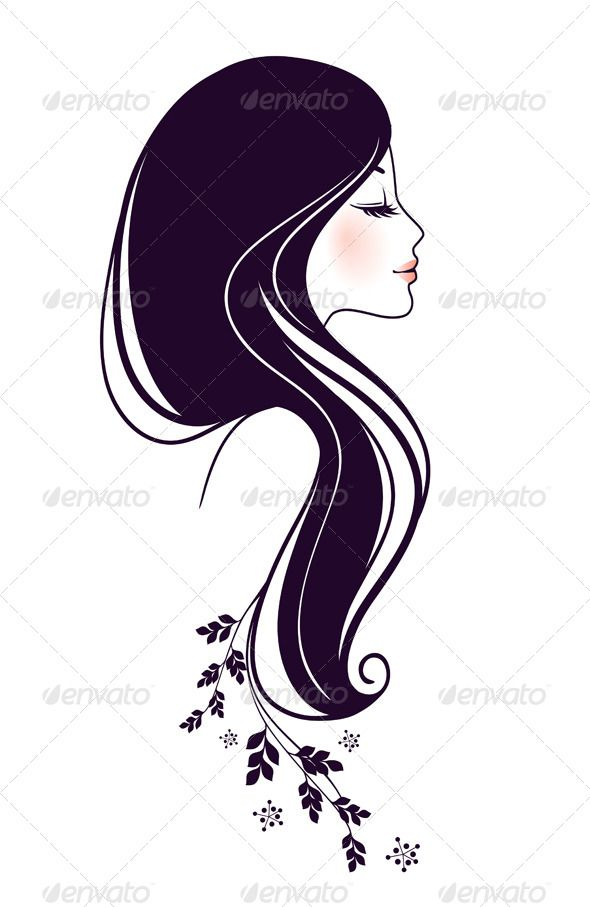 hair vector images - photo #30