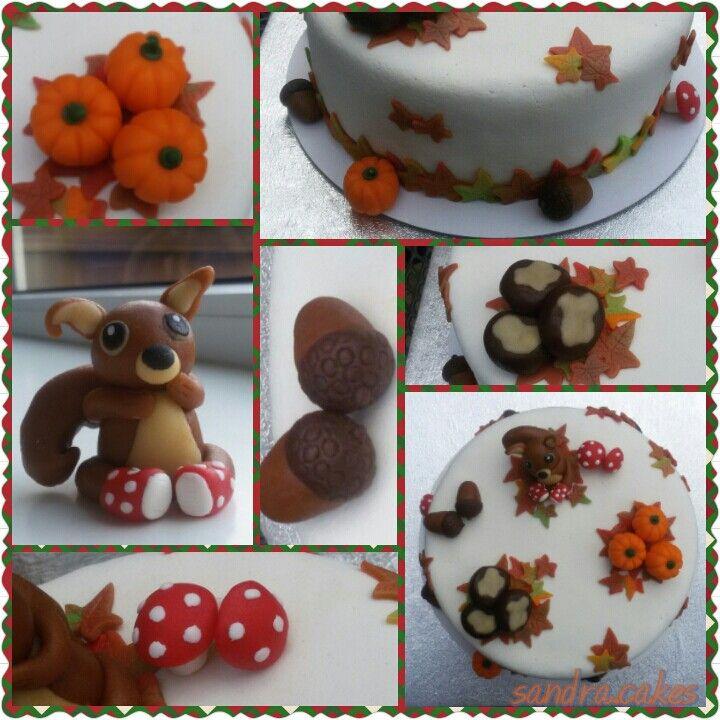 Autumn cake / herfsttaart