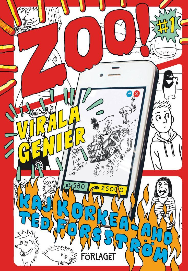 Zoo! #1: Virala genier - Kaj Korkea-aho, Ted Forsström