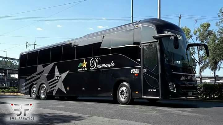 26bf03b514dd Volvo 9800 estrella de oro Diamante México