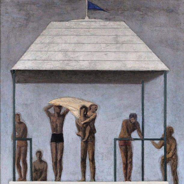 Giuseppe Capogrossi  Il temporale 1933