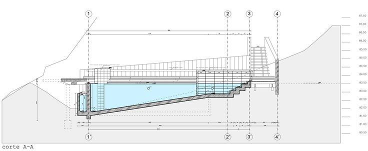 plano piscina sin fin arquitectura para todos pinterest