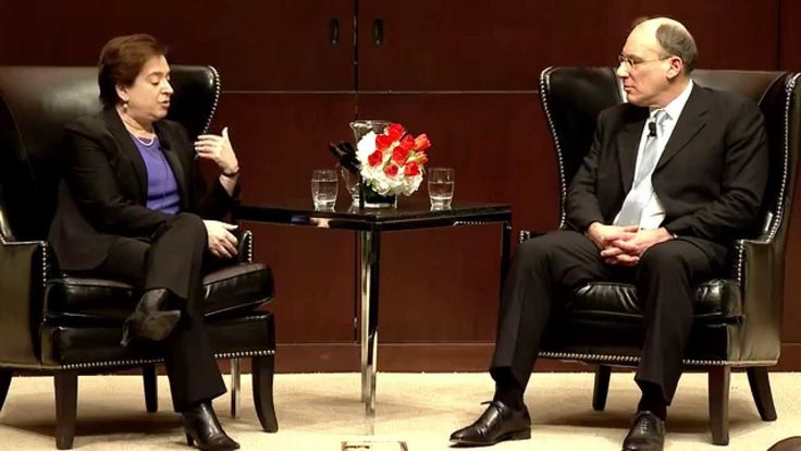 A Conversation With Elena Kagan - Published on Feb 10, 2015 In a conversation with David A. Strauss, Gerald Ratner Distinguished Service Professor of Law, US Supreme Court Justice Elena Kagan reflects on decision-making, persuasion, and hunting with Scalia.