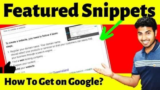 Video – Wie bekomme ich ausgewählte Snippets bei Google?