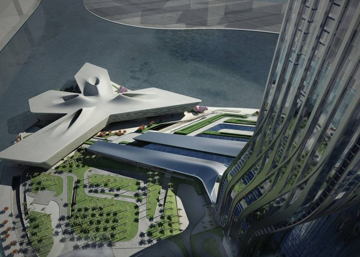 Dubai Financial Market - Architecture - Zaha Hadid Architects