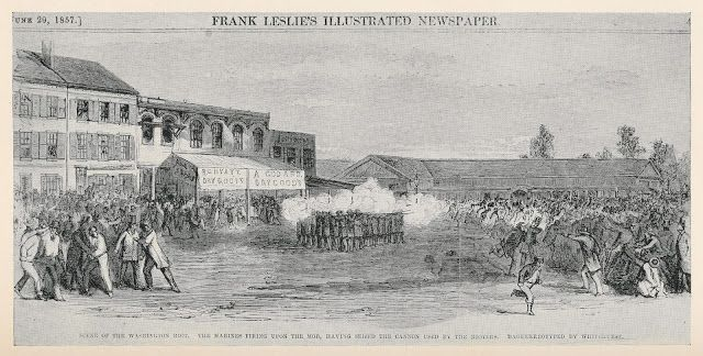 The Election Day Riot of 1857, driven by religious intolerance | Streets of Washington DC