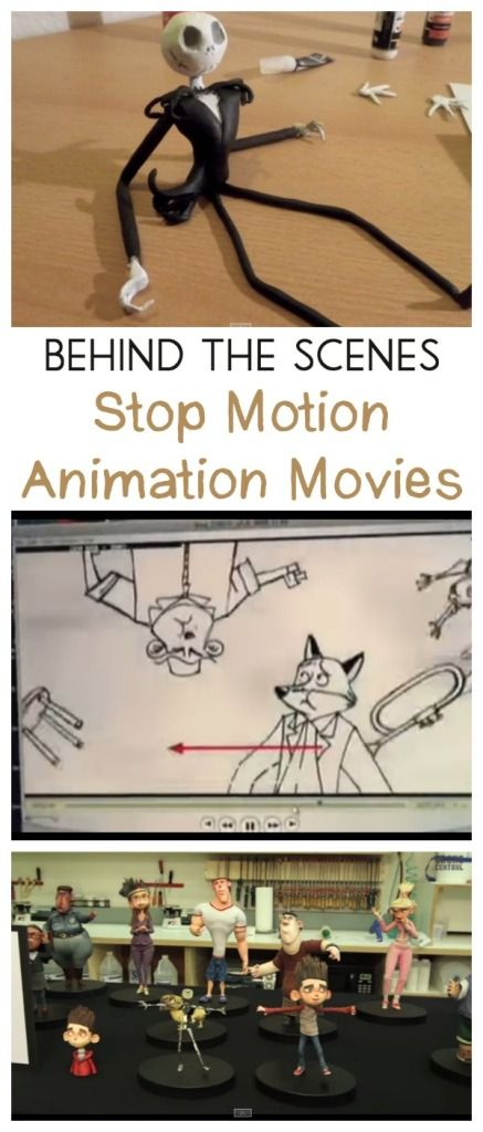 stop motion animation movies behind the scenes - so interesting!!