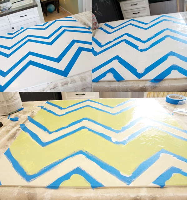 How to make a homemade chevron sign