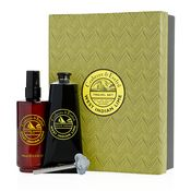 Duo gift set contains West Indian Lime shave cream and West Indian Lime after shave balm.