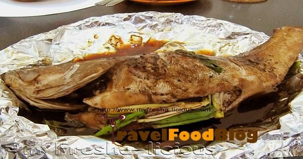 Steamed Hamour Fish With Scallion And Lemongrass Recipe