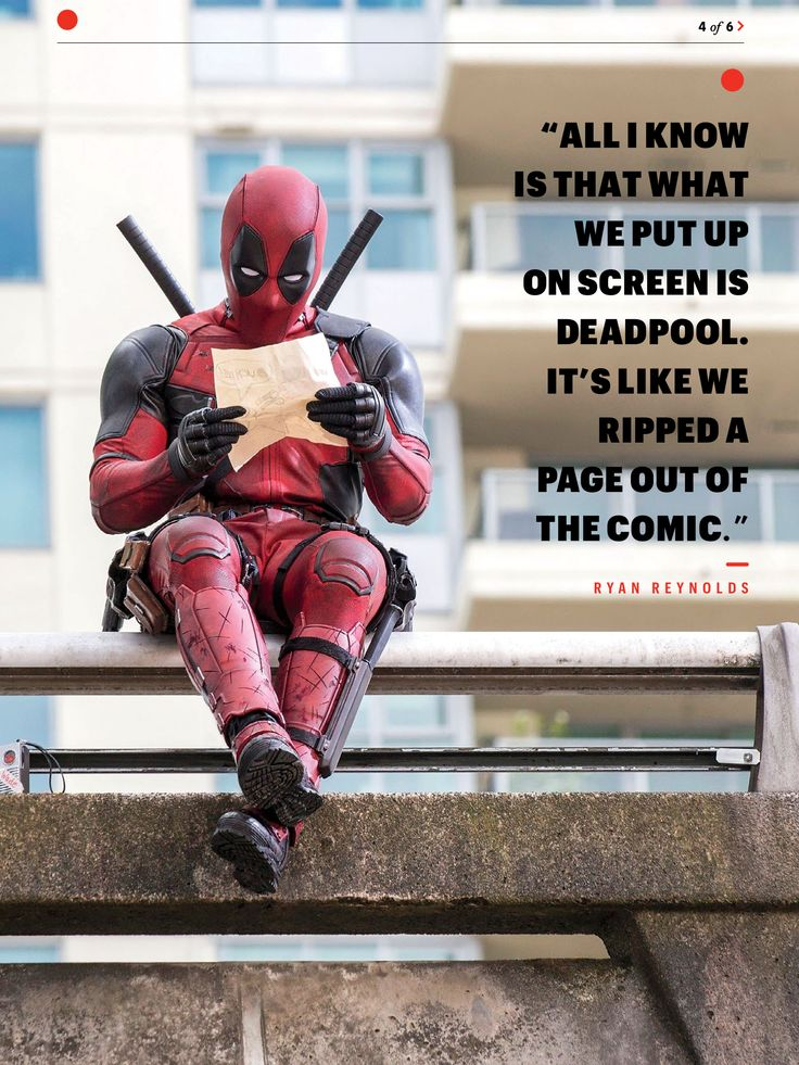 New Deadpool Images Show First Look At Supporting Cast | Comicbook.com