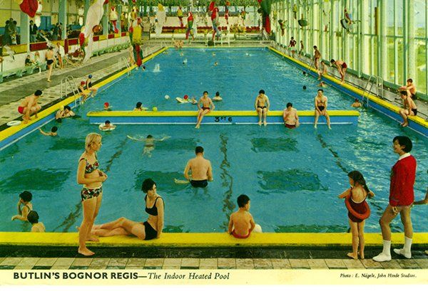 John Hinde postcards of Butlins