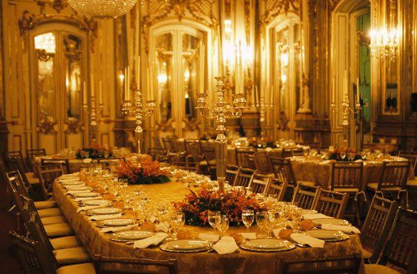 Ideas originales Como adornar un salon para boda.Bellos diseños.